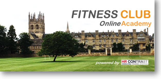 FITNESS CLUB Online Academy Website neu